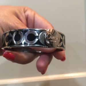 Coach Jewelry - Black coach bracelet